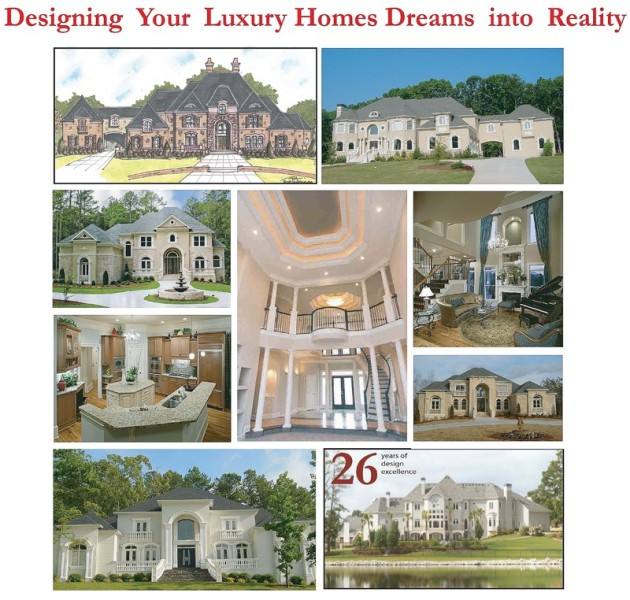 LUXURY MANSION DESIGN CUSTOM HOME DESIGN